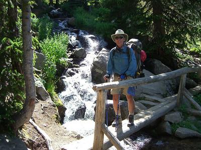 I always hike with my gnarly sticks!