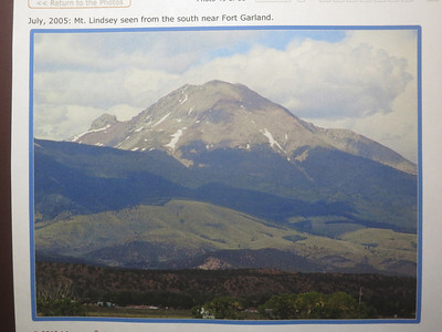 This shot from the south shows the false (left) and true summits.
