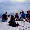 Yep - eight on summit, 8/21/99. .. Another guy and I then descended by the MR, the rest taking the Whitney Trail (though without a permit!).