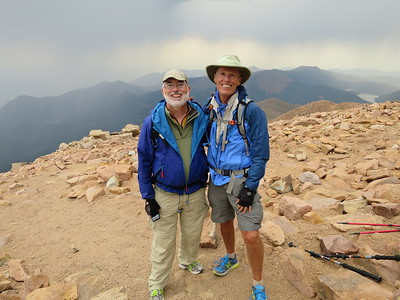 Pikes Peak by the Barr Trail - 8/25/15