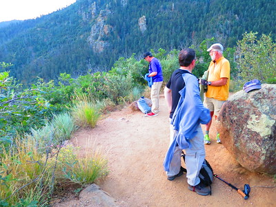 Time to shed some clothes on our very mild weather day. Maps of Barr Trail here: http://bit.ly/BarrTrailMaps
