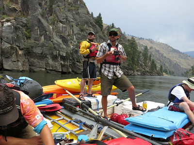 Rafting the Main Salmon River, 7/13-17/12