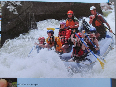 Rafting the Royal Gorge, 6/28/14