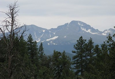 Meeker on left and Longs Pk on the right. [Telephoto] Yep - a pretty overcast, somewhat threatening day.