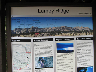 Excellent web resource here on climbing at Lumpy:   http://www.mountainproject.com/v/colorado/estes_park_valley/lumpy_ridge/105744228