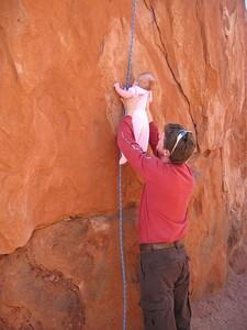 First climb!