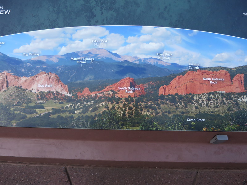 An initial key stop at the Garden of the Gods Visitor Center - http://www.gardenofgods.com