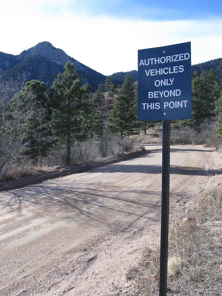 Next time - we'll definitely bring an Authorized Vehicle!