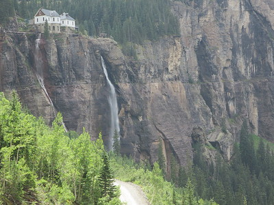 Telephoto.  .. The longest drop of any falls in Colorado.