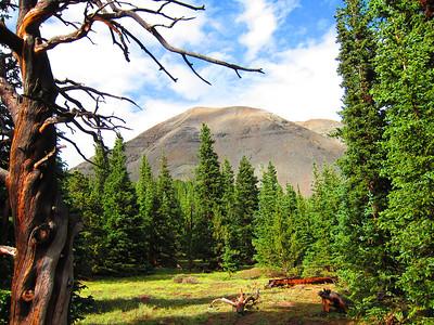 West Spanish Peak, 7/21/11