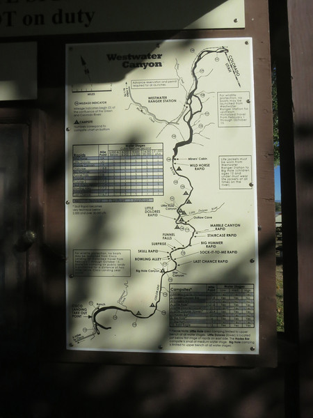 Enlarge to see the route and the many rapids: move mouse over image; from the menu that appears on the right, select size. .. When done, click Close in upper right.