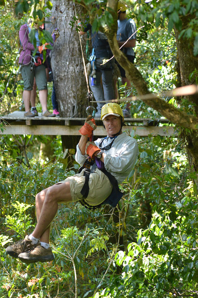 Ziplining in Costa Rica, 3/18/14