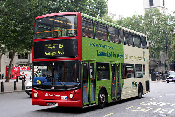 London Advert Buses