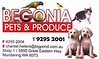 Begonia Pets and Produce