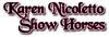 Karen Nicoletto ShowHorses 041 217 3466