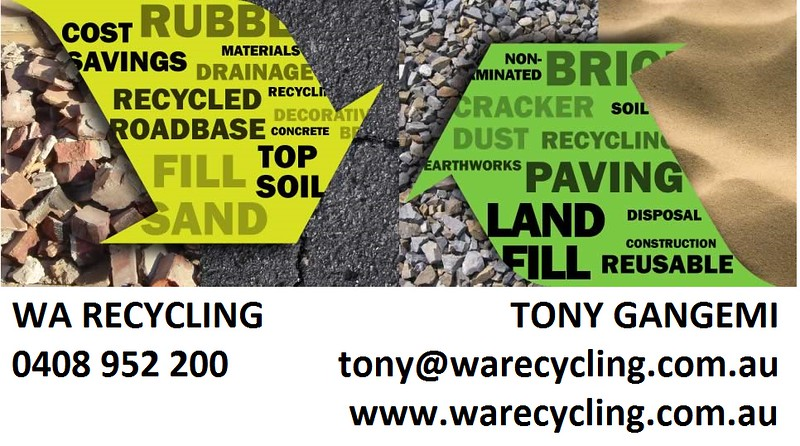 WA Recycling Tony Gangemi