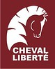 Cheval Liberte Logo Maroon