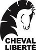 Cheval Liberte Logo 100% Black