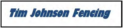 Tim Johnson Fencing