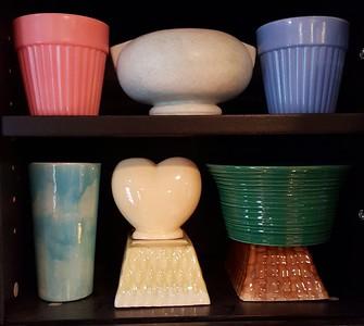 Retro pottery