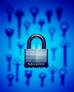 Master Lock and Keys