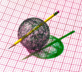 Pencil Thru Sphere