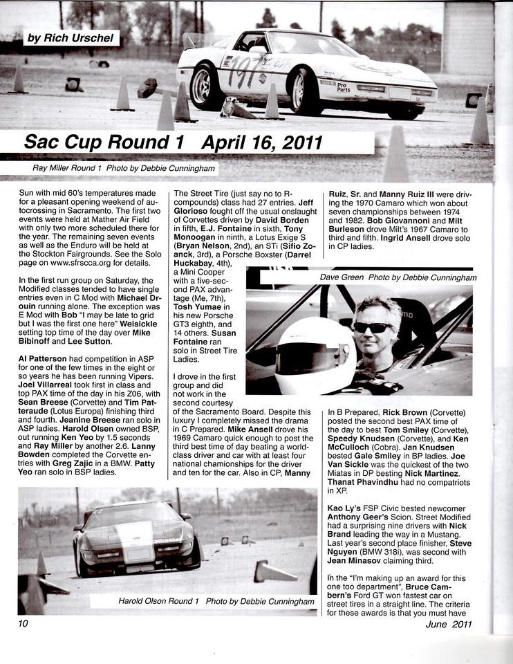 SCCA's The Wheel June 2011