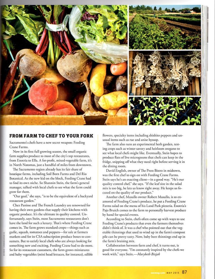 Sacramento Magazine May 2013