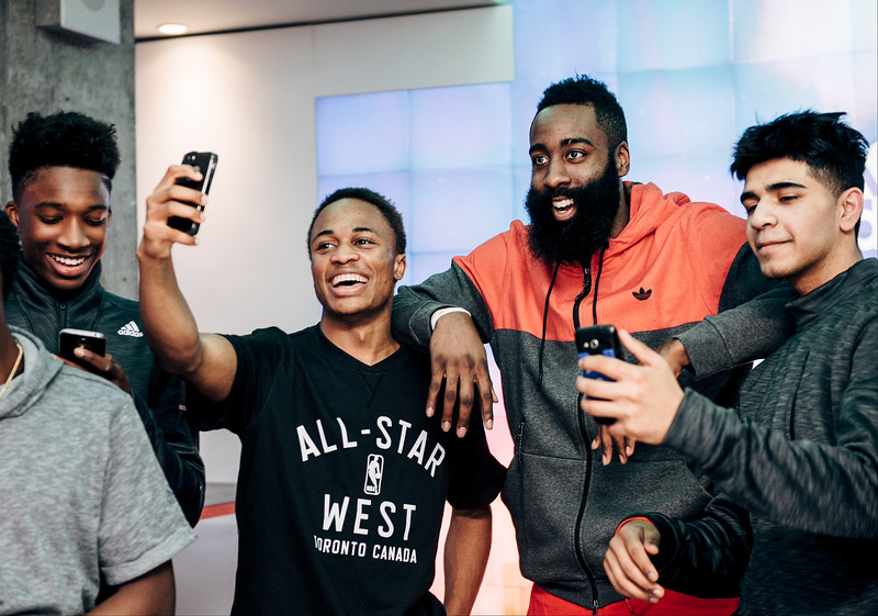 James Harden Appearance