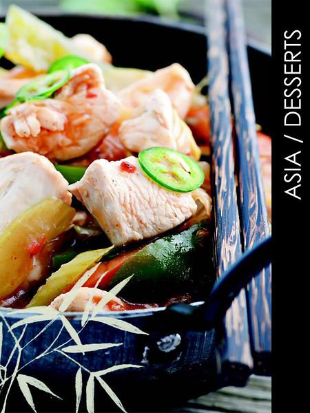 ASIA menu