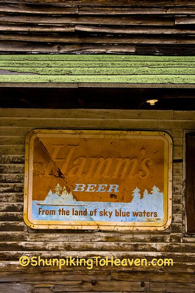Old Hamm's Beer Sign, Adams County, Wisconsin