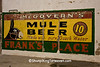 Mule Beer Sign, Benton County, Arkansas