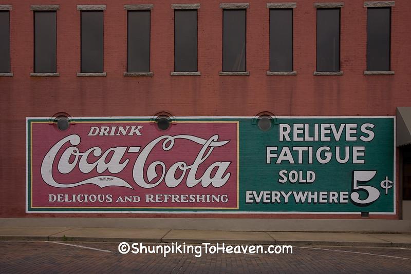 Restored Coca Cola Mural, Benton County, Arkansas