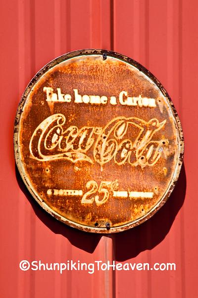 Coca Cola, 6 Bottles, 25 Cents Plus Deposit, Macon County, Missouri