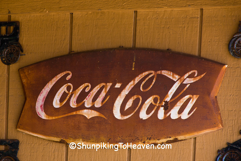 Rusty Coca Cola Sign, Staunton, Illinois