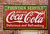Coca Cola Sign on Drug Store, Stone County, Arkansas