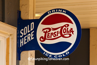 Pepsi-Cola Sign, Green County, Wisconsin