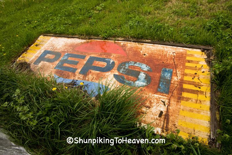 Rusty Old Pepsi Sign, Pike County, Ohio