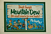 Vintage Mountain Dew Sign, Patrick County, Virginia