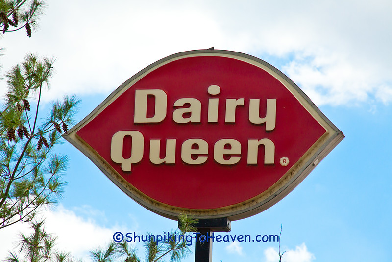 Old Fashioned Dairy Queen Sign, New Richmond, Wisconsin