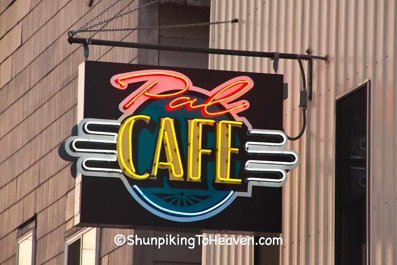 Pal Cafe Sign, Park Falls, Wisconsin
