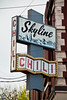 Vintage Skyline Chili Sign, Cincinnati, Ohio