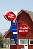 "Unique Dairy Queen ""Barn"", Milford, Illinois"