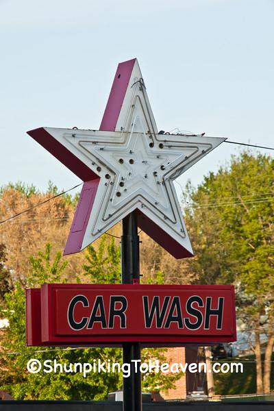 Car Wash Sign, St. Joseph, Missouri