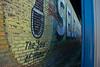 Uncovered Selz Shoe Mural, Kahoka Missouri
