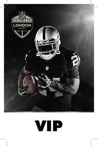 NFL LONDON GAMES CREDENTIAL, Oakland Raiders