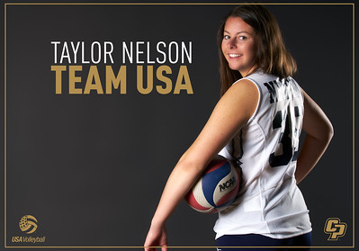 TEAM USA INTRO GRAPHIC, Cal Poly Volleyball