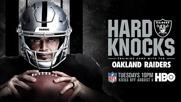 HARD KNOCKS DEREK CARR POSTER, HBO