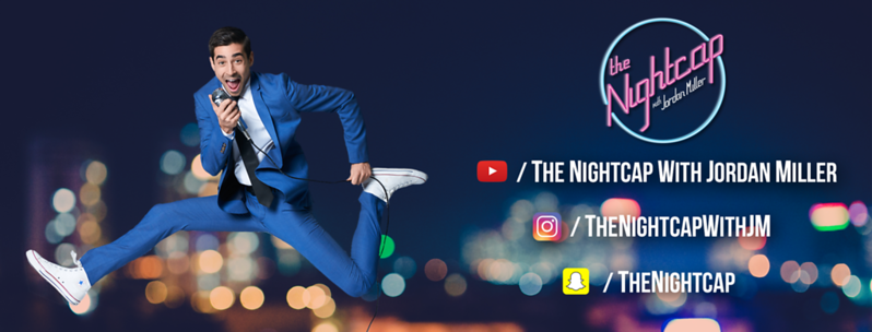 SOCIAL MEDIA BANNER, The Nightcap with Jordan Miller