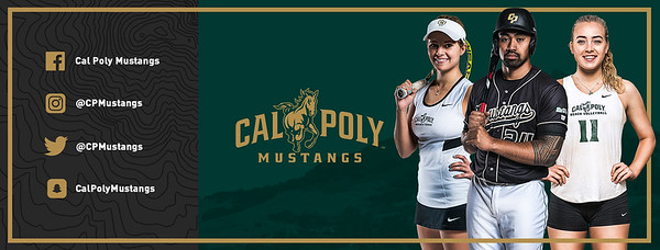 TWITTER PROFILE BANNER, Cal Poly Athletics